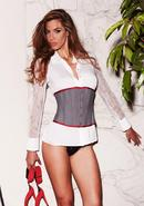 Suit Inspired Cincher Grey S
