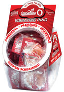 Screaming O Vibrating Ring Candy Bowl 48 Per Display