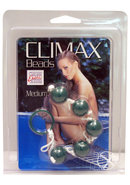 Climax Anal Beads Medium Assorted Colors