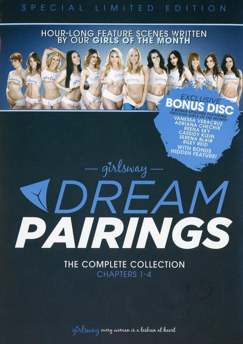 4pk Girlsway Dream Pairings1-4(disc)