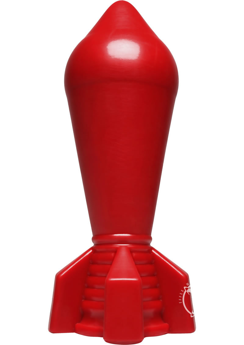 American Bombshell Shockwave Anal Plug Red 8 Inch Long 8.5 Inch Girth