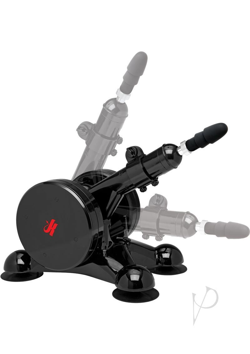 Kink Fucking Machines Power Banger With Vac U Lock Compatible Plug Black 16 Inch