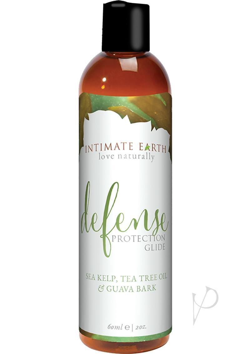 Intimate Earth Defense Protection Glide Sea Kelp, Tea Tree Bark And Guava Bark 2 Ounce