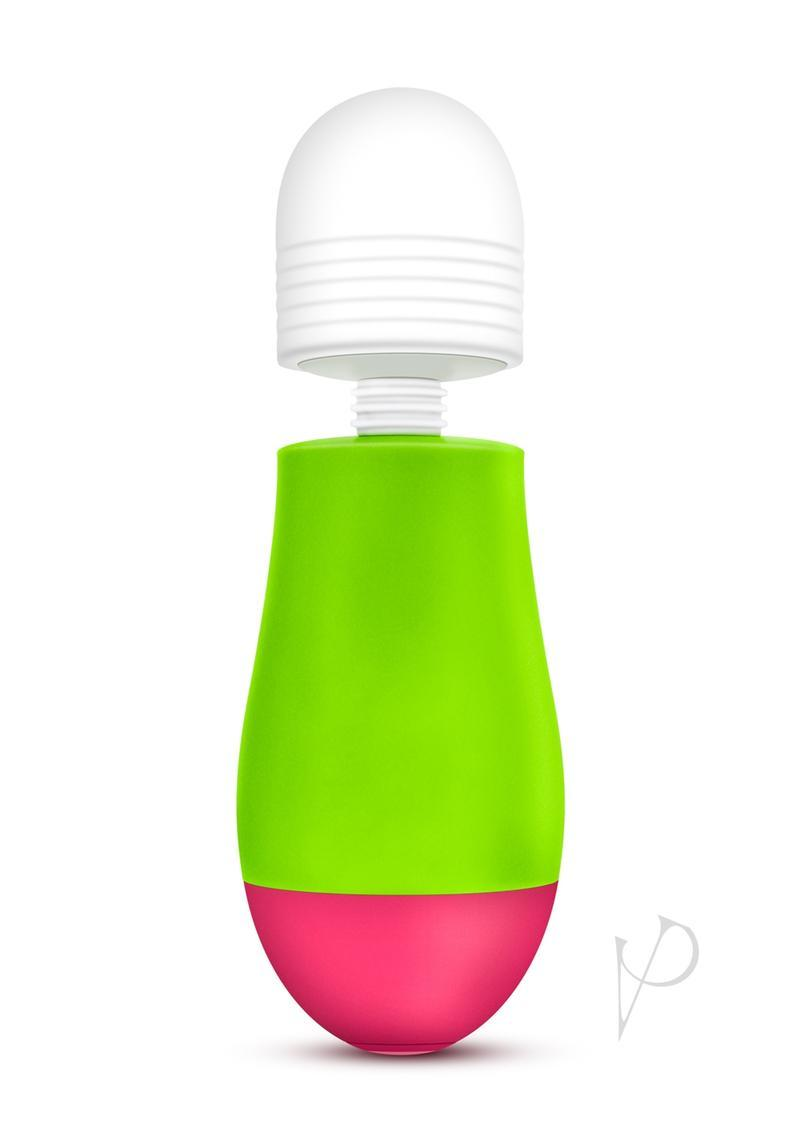 Aria Silicone Vibra Wand Waterproof Lime